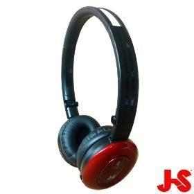 [NOVA成功3C]淇譽 JS HMH038 紅色 藍芽無線立體聲耳機(藍芽v2.1)