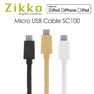 [NOVA成功3C]Zikko Micro USB Cable SC100 傳輸線.