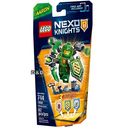 樂高積木LEGO《 LT70332 》Nexo Knights 未來騎士系列 - 終極未來騎士阿隆