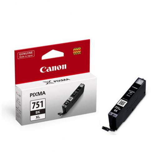 CANON CLI-751XLBK 原廠黑色高容量XL墨水匣 CLI-751XL BK 適用 iP7270/iX6770