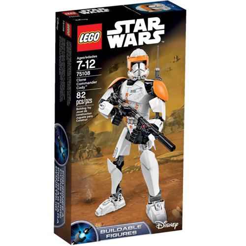 樂高積木LEGO《 LT75108 》STAR WARS™ 星際大戰系列 - Clone Commander Cody™