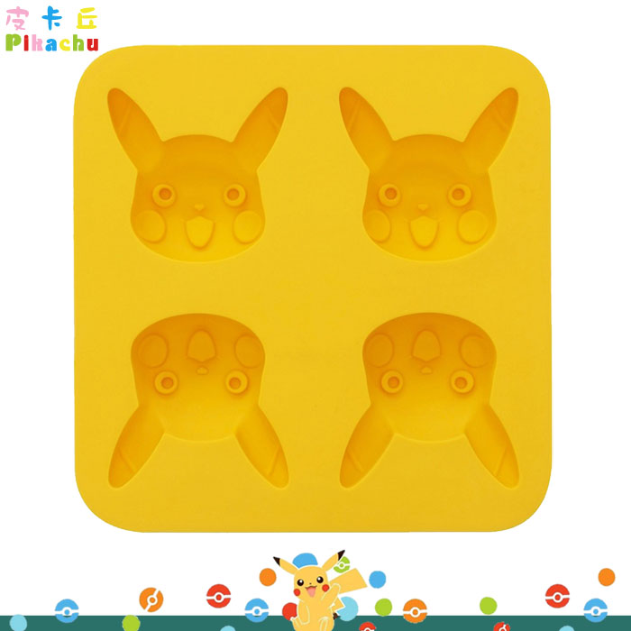 大田倉 日本進口正版 皮卡丘蛋糕壓模 神奇寶貝 Pikachu 模型 模具 矽膠材質 48ml 冰塊模型  261879