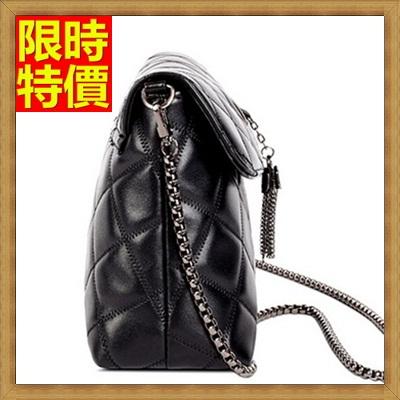 肩背包 手提包-真皮甜美淑女菱格時尚休閒小包包71y29【獨家進口】【米蘭精品】