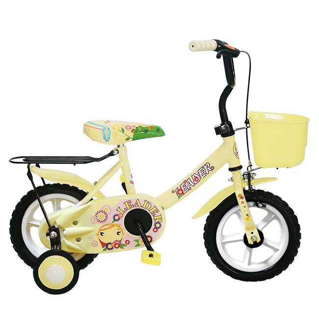 Adagio 12吋酷寶貝童車附置物籃-米色(ME0048W)