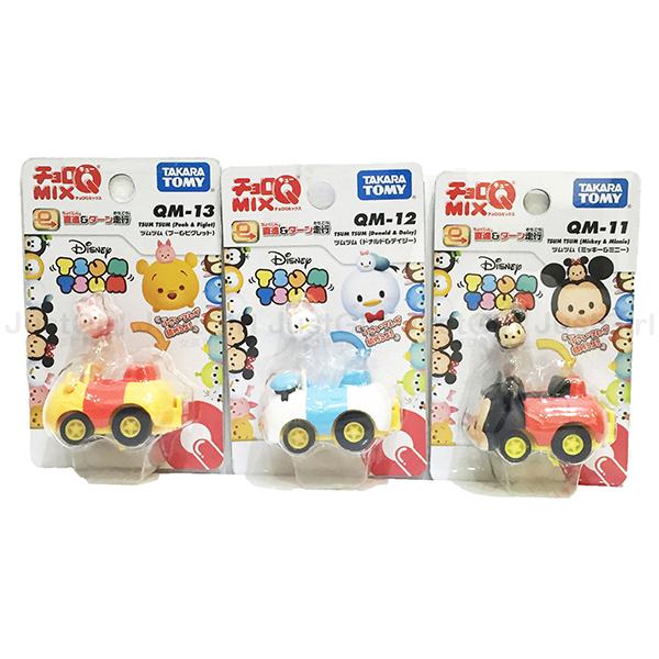 迪士尼 TOMY 玩具車 小汽車 阿Q車 迴力車 米奇 唐老鴨 維尼 玩具 正版日本進口 * JustGirl *