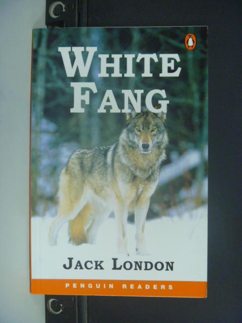 【書寶二手書T8/語言學習_NQM】White Fang_London, Jack