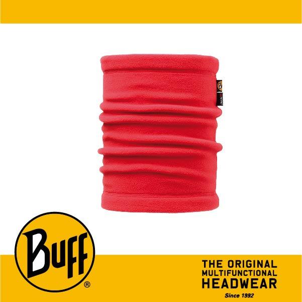 BUFF 西班牙魔術頭巾 POLAR保暖系列 領巾 [洋紅素面] BF107922