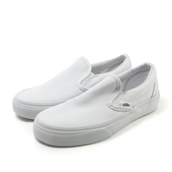 VANS Classic Slip-On 懶人鞋 白 男女款 no327