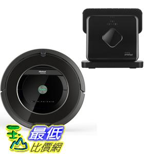 (鋰電版現貨) iRobot Roomba 880 吸塵器 和 Braava 380t 抹地機套餐  贈濾網6片+邊刷3支+清潔刷+防撞條