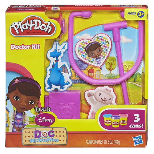 《 Play - Doh 培樂多 》 小醫師大玩偶遊戲組