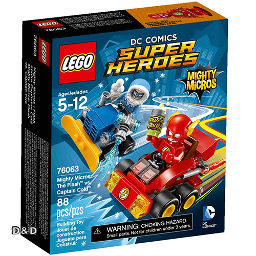 樂高積木 LEGO《 LT76063 》SUPER HEROES 超級英雄系列 - Mighty Micros: The Flash vs. Captain Cold