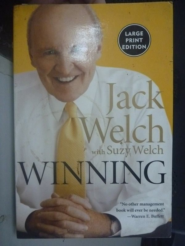 【書寶二手書T7/心靈成長_ZCV】Winning_Welch, Jack/ Welch, Suzy