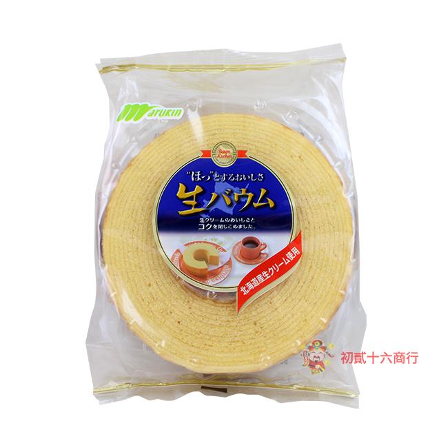 【0216零食會社】日本丸金-年輪雞蛋蛋糕310g
