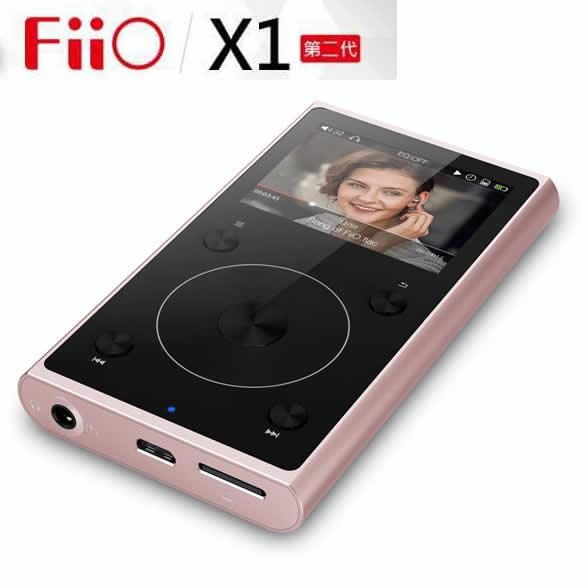 志達電子 X1 II FiiO X1 II 2代 MP3 隨身聽 可插記憶卡 台灣公司貨保固一年