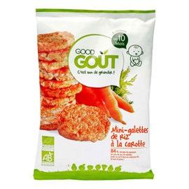 Good Gout - 有機胡蘿蔔小米餅 (40g/包)