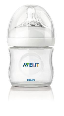 PHILIPS Avent 新安怡 親乳感 PP防脹氣奶瓶-125ml 單入 (寬口徑)