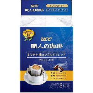 UCC職人濾式咖啡8入-柔和香醇 (56g)