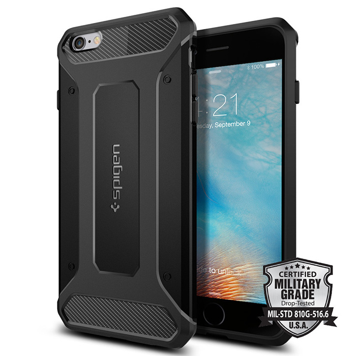 Spigen iPhone 6S Plus Ultra Rugged-彈性防震保護殼