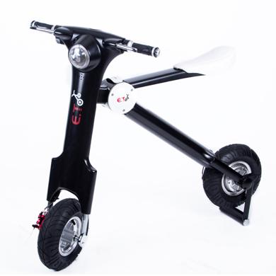 ET 3D智能摺疊電動車 輕巧智能折疊車、環保電動代步車 購買贈輕巧式拉鍊滾輪收納袋!