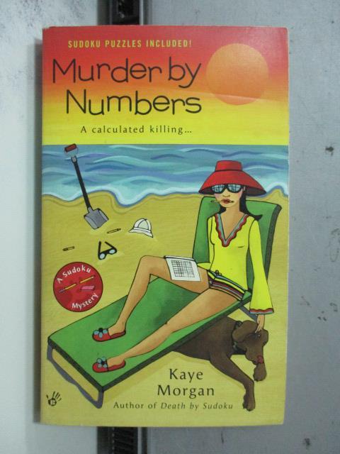 【書寶二手書T3/原文小說_OCP】Murder by Numbers_Kaye Morgan