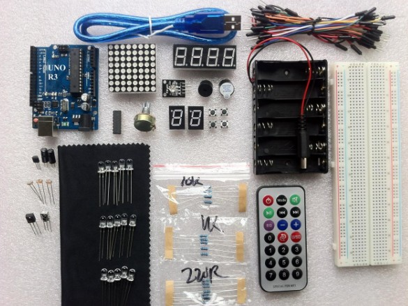 [生活好漾] Uno R3 Board Starter Kit + PDF file for Arduino