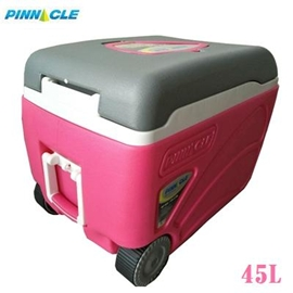 [ PROXON ] 45L拉桿冰桶 粉紅色 / 四日鮮 冰箱 非Coleman IGLOO / TPX-6003