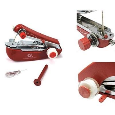 迷你手動縫紉機-免吃電輕巧多功能袖珍型縫紉機73pp18【米蘭精品】