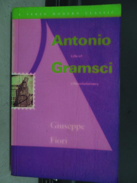 【書寶二手書T4/原文小說_JBM】Antonio gramsci_1970