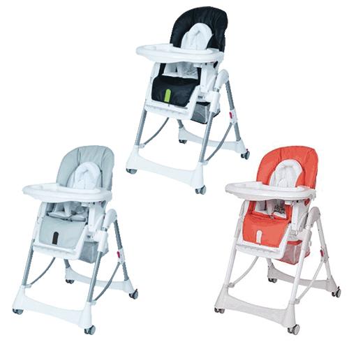 ★衛立兒生活館★Britax Steelcraft高低可調多功能餐椅(黑色/桔紅色/灰色)