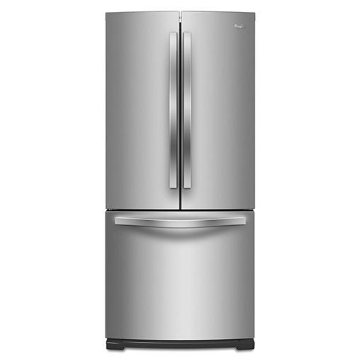 Whirlpool 惠而浦 WRF560SMYM ( 內製冰 )  不鏽鋼三門冰箱墨製 554L