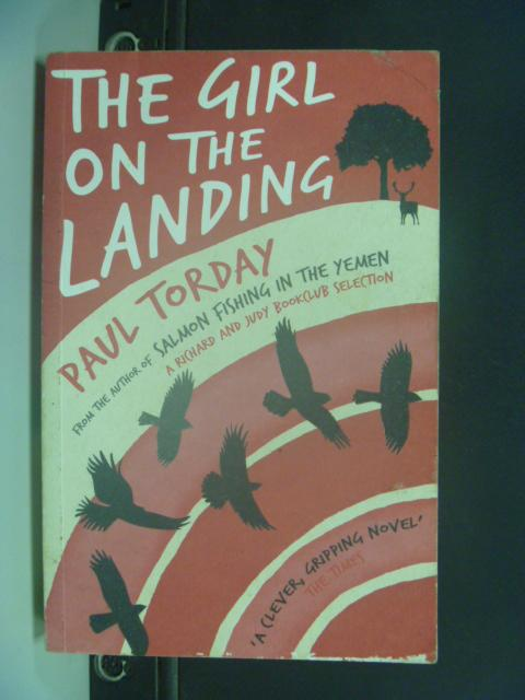 【書寶二手書T8/原文小說_HNU】The Girl on the Landing. Paul Torday