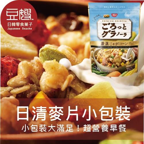 【即期特價】日本零食 NISSIN 日清早餐麥片(馬鈴薯玉米)(200g)