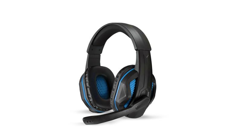 樂點生活●laclick 赤魟-專業電競耳機麥克風-藍 MOE212-1