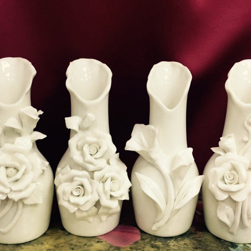 【Dancedoll舞蹈精品】陶瓷小花瓶★瓷器擺飾/瓷器小花瓶/造型擺飾/藝術品/禮品/瓷器家飾/花器★