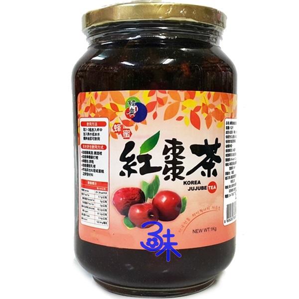 (韓國) 韓廣 韓國蜂蜜紅棗茶 1瓶 1公斤 特價 267 元【8809283332851 】