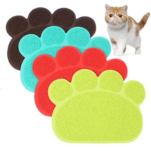 【小樂寵】可愛爪形貓沙墊/餐墊