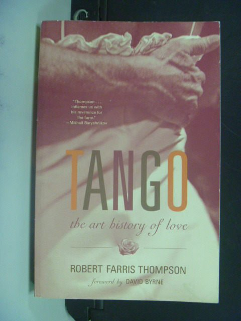 【書寶二手書T6/兩性關係_MIQ】Tango: The Art History of Love