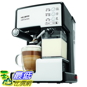 [美國直購] Mr. Coffee BVMC-ECMP1102 Cafe Barista White, White 咖啡機
