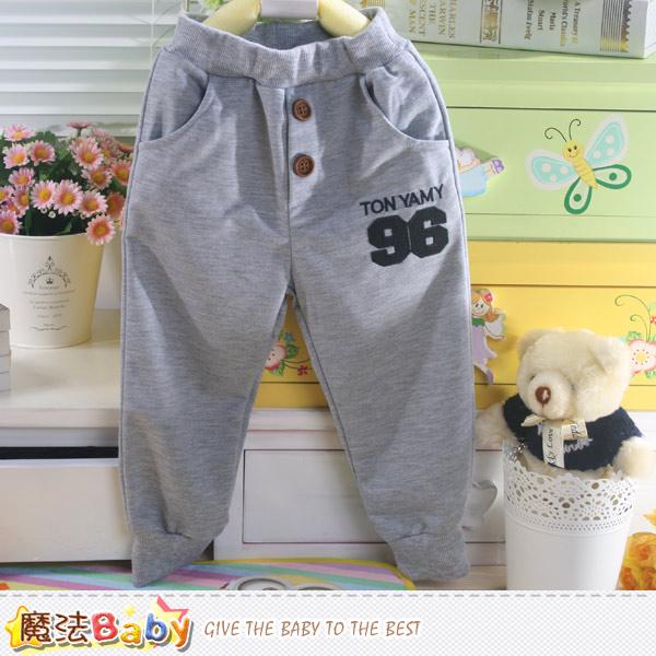 兒童休閒運動長褲 魔法Baby~k42619