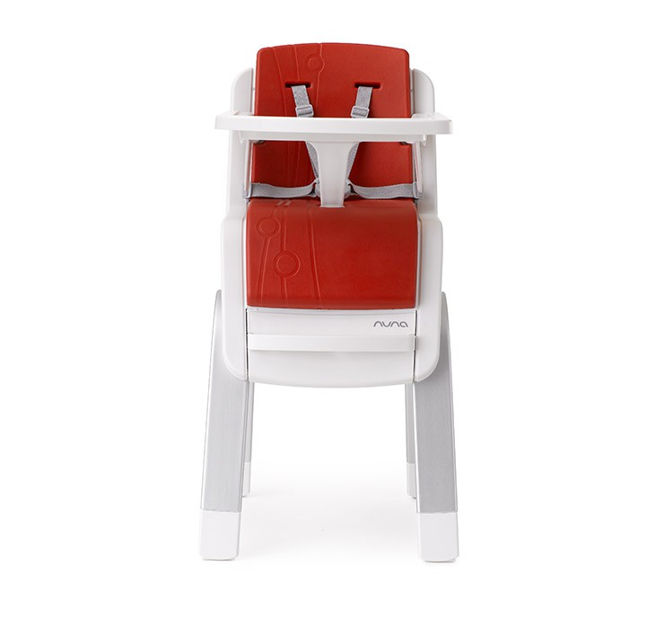 NUNA - ZAAZ 高腳椅 (紅) 贈品牌手提袋+可愛玩偶吊飾,加贈NUBY鮮果園禮盒!