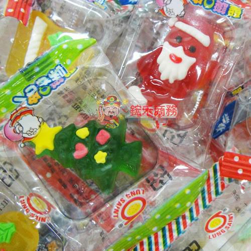 【0216零食會社】日日旺-聖誕Q皮糖