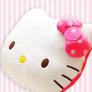 美麗大街【20160105017】HELLO KITTY  12吋 抱枕 靠枕 午安枕
