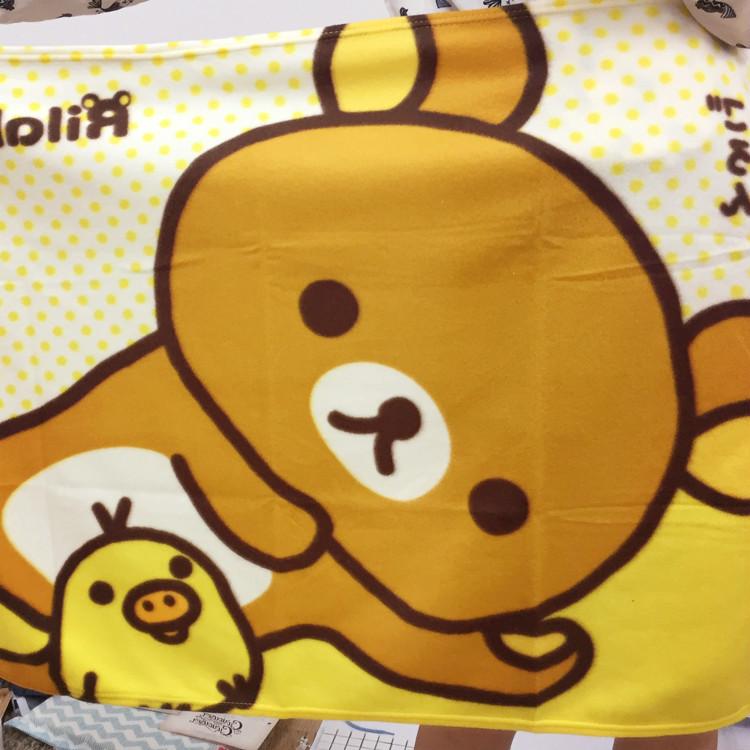 PGS7 (現貨+預購) 日本拉拉熊系列商品 - 拉拉熊 刷毛毯 毛毯 小被子 毯子 拉拉雄 鬆弛熊 懶懶熊