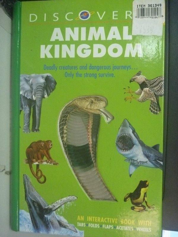 【書寶二手書T2/動植物_QIT】Animal Kingdoms_Taylor, Barbara