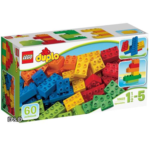 樂高積木 LEGO《 LT10623 》2016 年 Duplo 幼兒系列 - Basic Bricks – Large