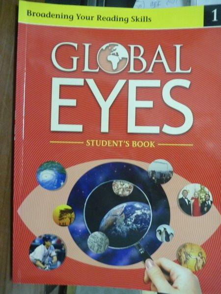 【書寶二手書T9/語言學習_QGH】Global Eyes(Student's Book 1)