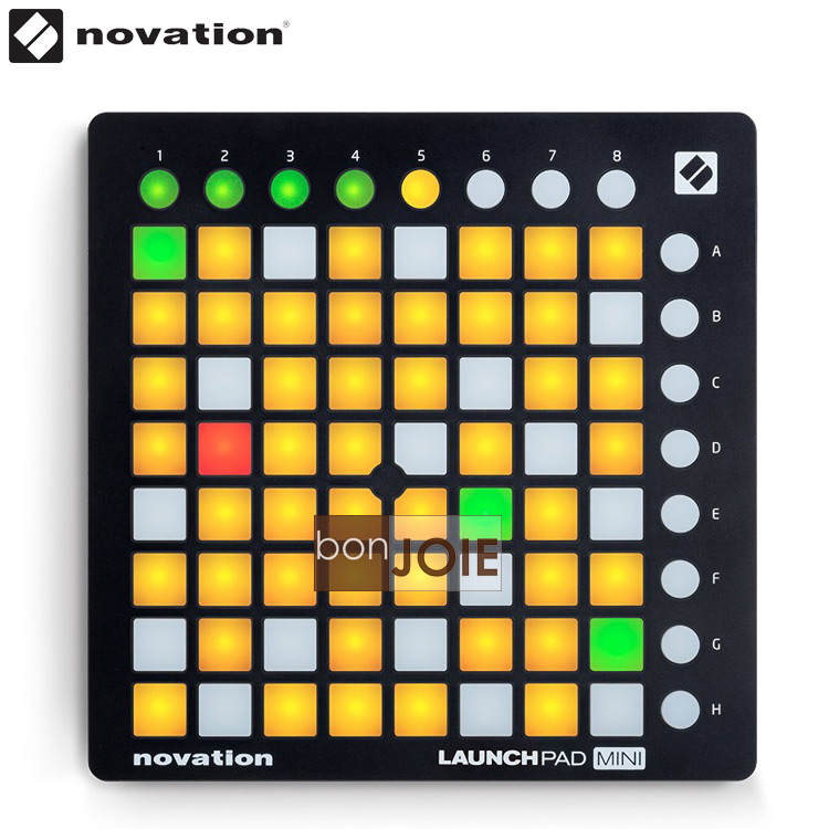 ::bonJOIE:: 美國進口 最新版 MK2 版 Novation Launchpad Mini MKII MIDI 控制器 (盒裝) Compact USB Grid Controller for Ableton Live
