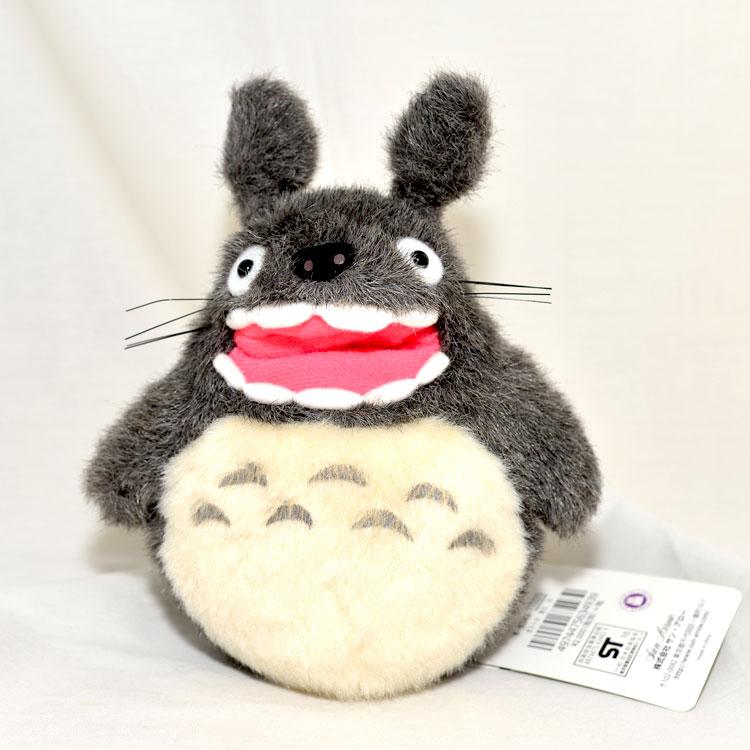 TOTORO 18cm 龍貓玩偶 完整呈現動畫毛絨絨質感 日本帶回正版商品 宮崎駿