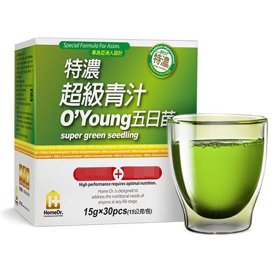 素晴館 Home Dr. 特濃超級青汁O'Young五日苗 (30包/盒)
