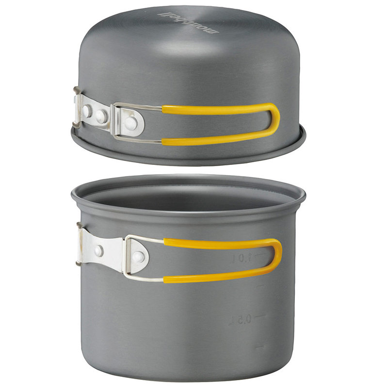 ├登山樂┤日本mont-bell ├登山樂┤Mont-Bell ALPINE COOKER 13 一公升 鋁合金個人鍋具組 #1124450